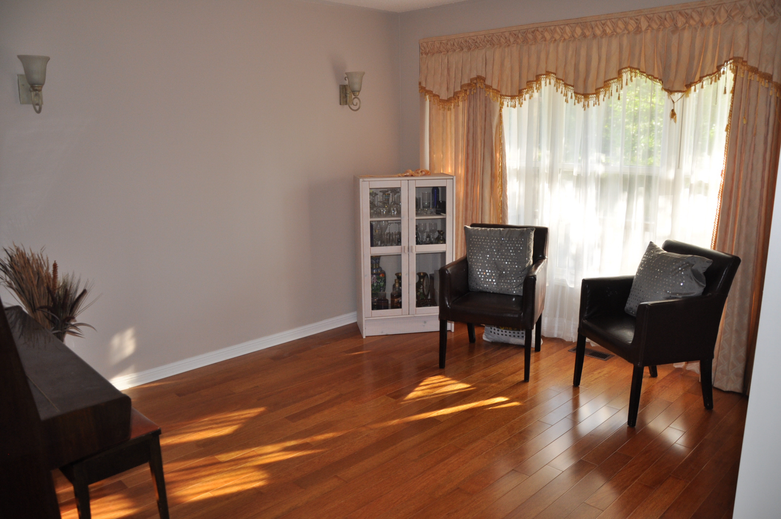 Occupied Home Staging-Living Room Before
