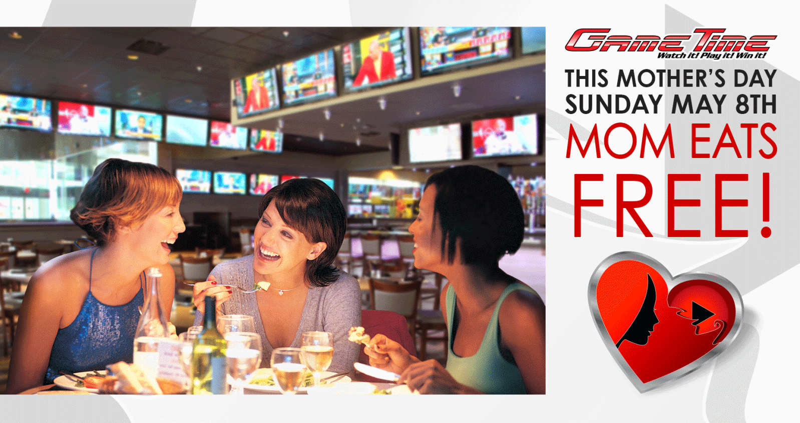 Celebrate Mothers day in Miami at GameTime