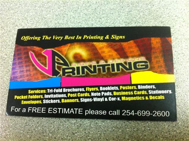 Vp printing signs designs reheart Images