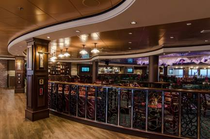 Norwegian Gem now outfitted with O'Sheehan's Neighborhood Bar & Grill and Sugarcane Mojito Bar